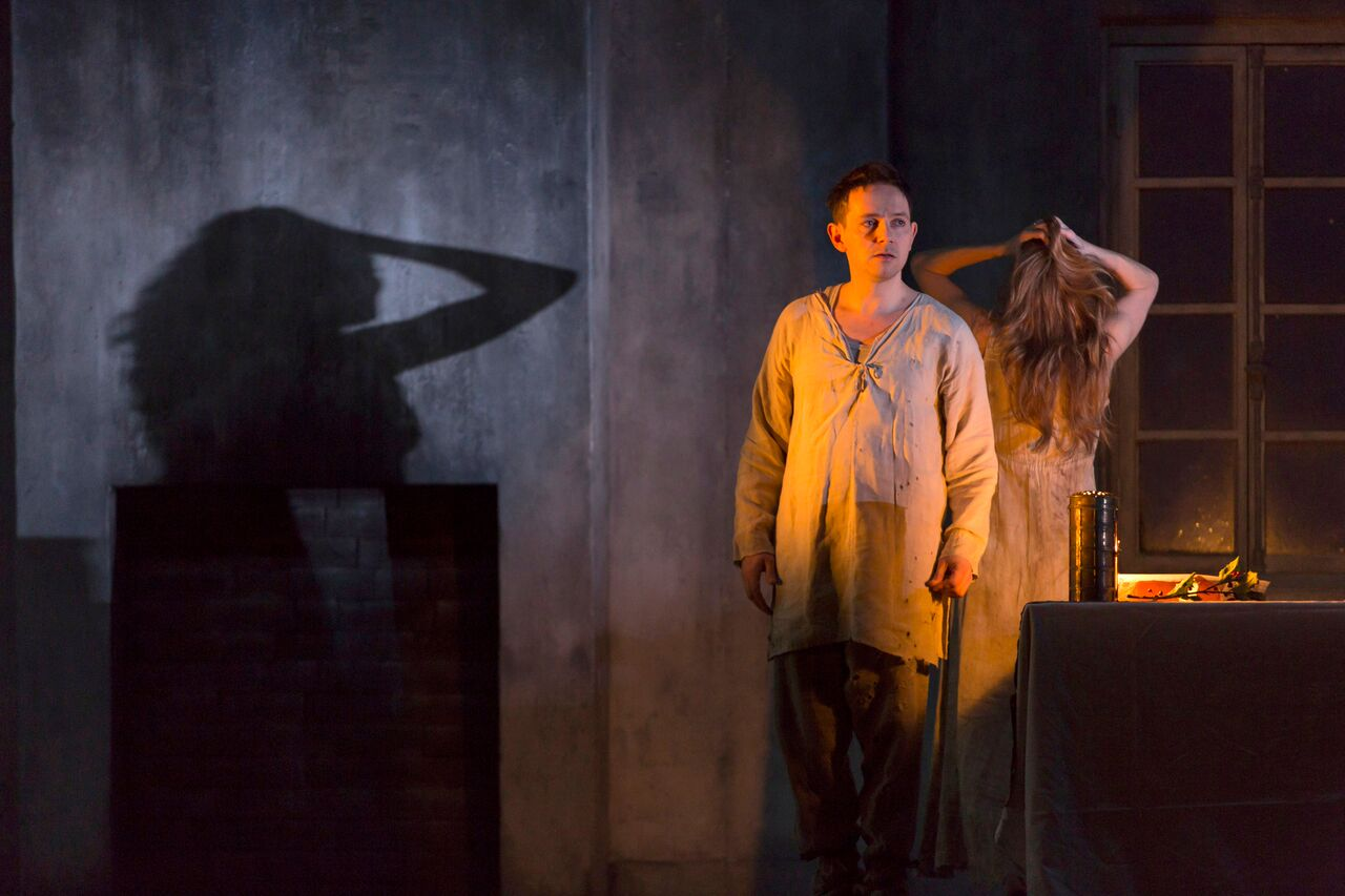 Iestyn Davies and Barbara hannigan in Written on Skin