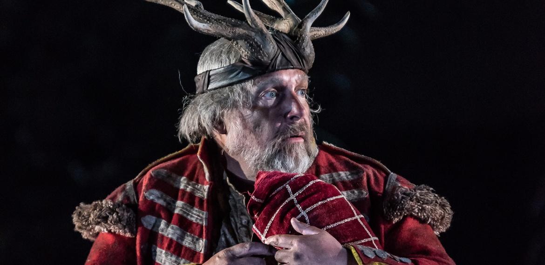 Henry Waddington as Falstaff