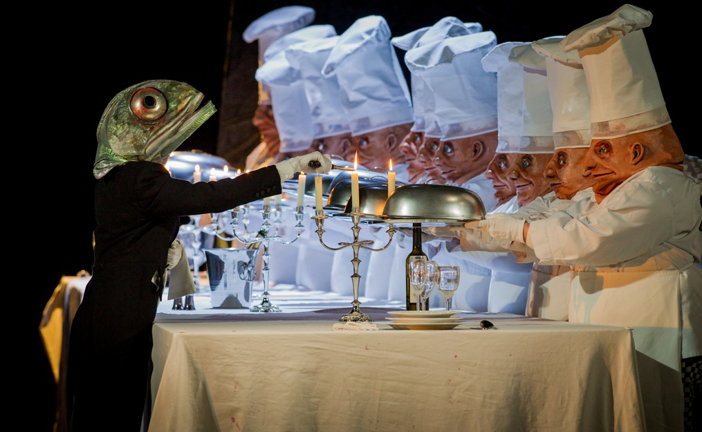 The dream banquet in Richard Jones's Hansel and Gretel