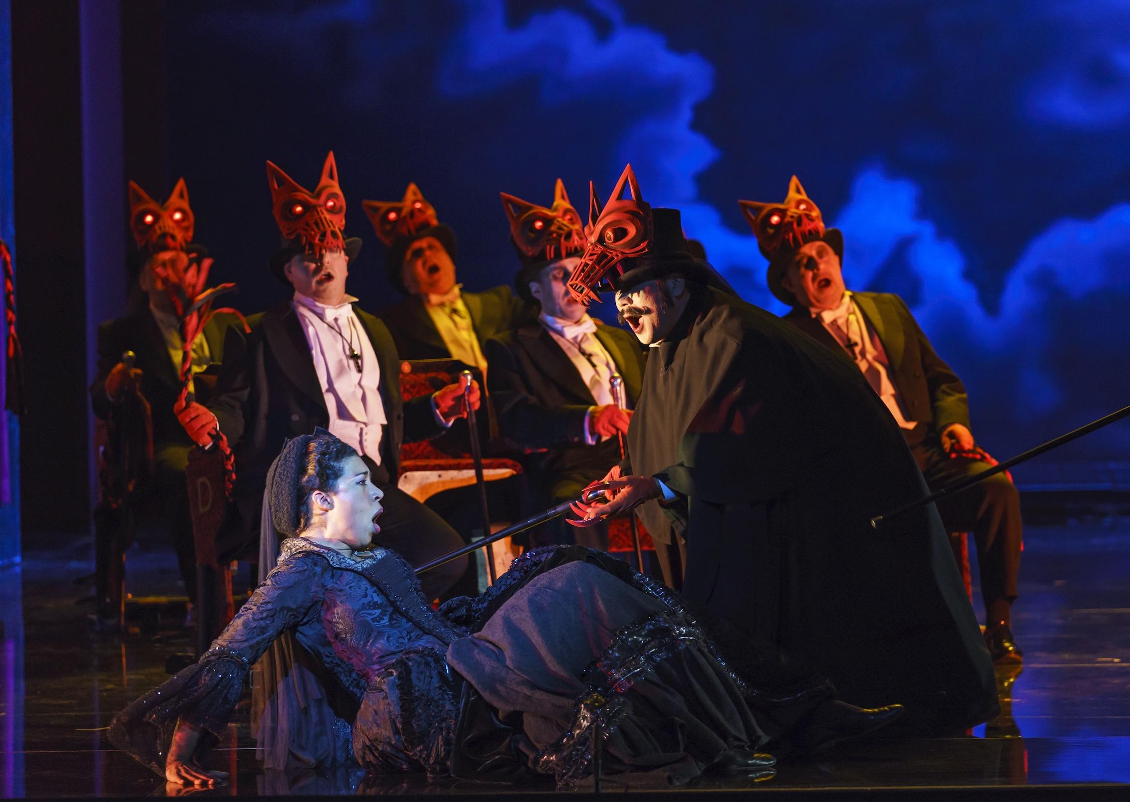 Un ballo in maschera, Welsh National Opera