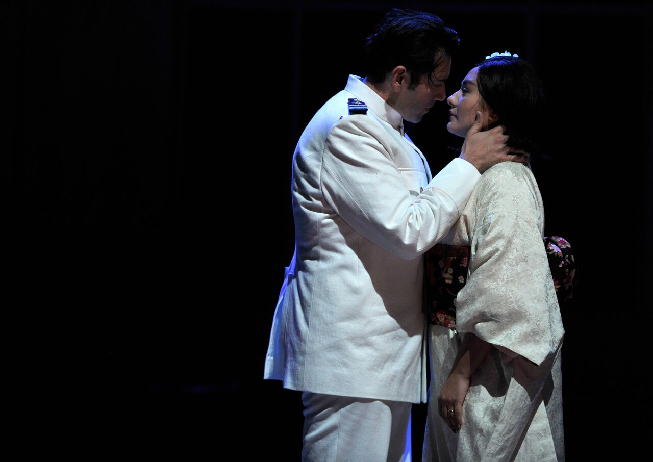 Scene from Glyndebourne Madama Butterfly