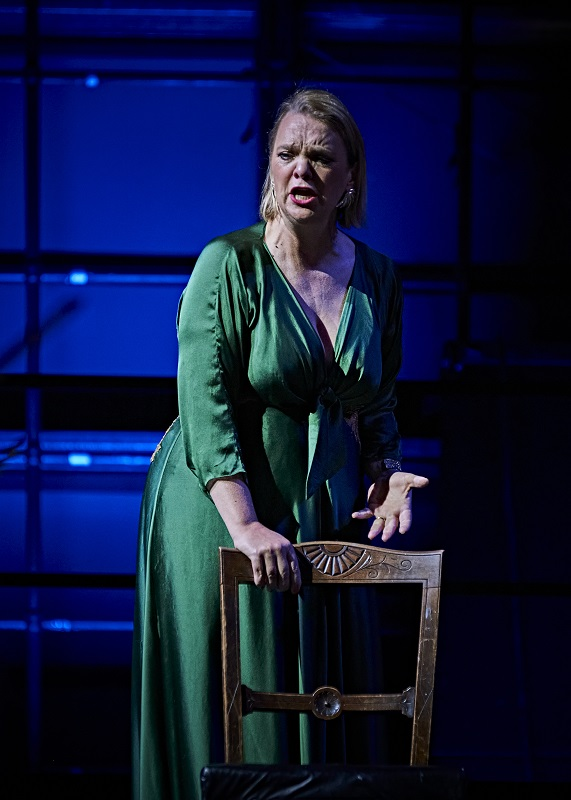 Madeleine Shaw as Fricka at Longborough