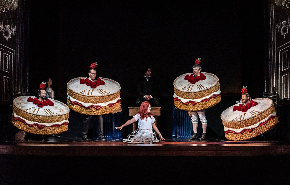 Alice and Cakes in Gerald Barry's opera