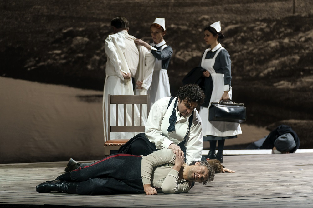 Ludovic Tezier and Jonas Kaufmann in Royal Opera Forza