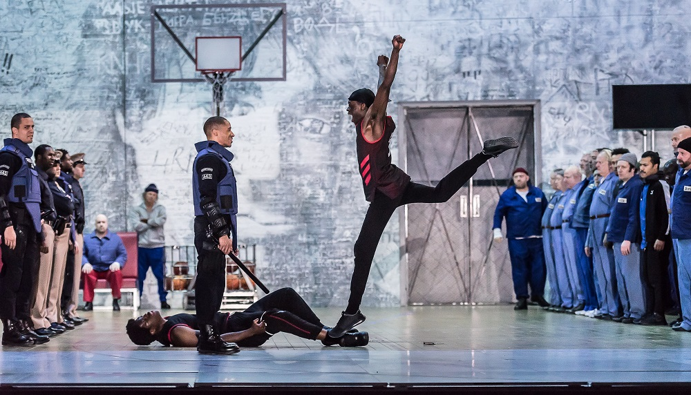 Scene from Royal Opera's From the House of the Dead