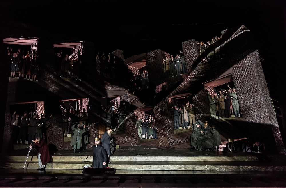 Scene from Act One of the Royal Opera Lohengrin