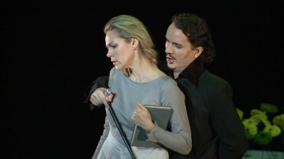 Opolais and Rucinski in Eugene Onegin