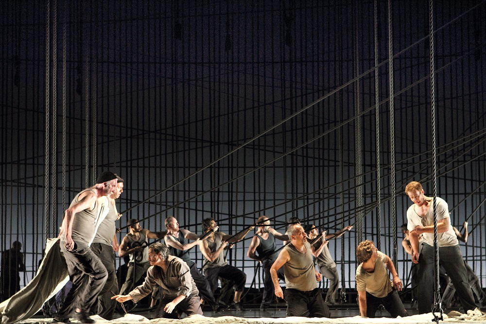 Scene from Royal Opera Billy Budd