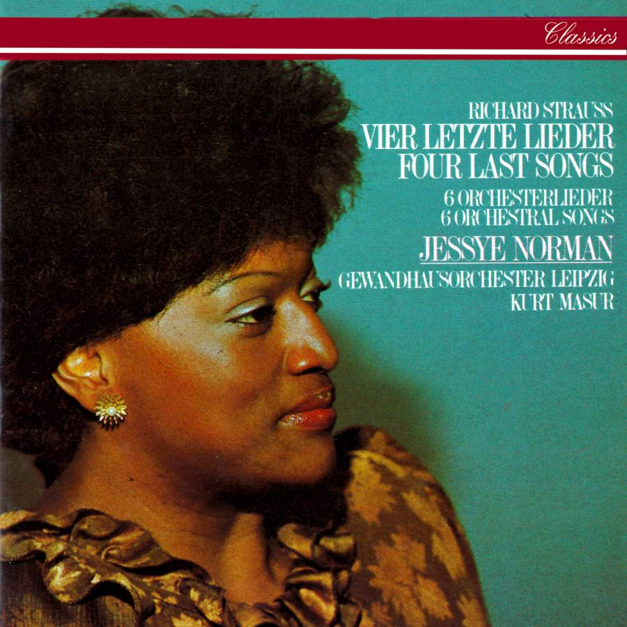 Jessye Norman Four Last Songs