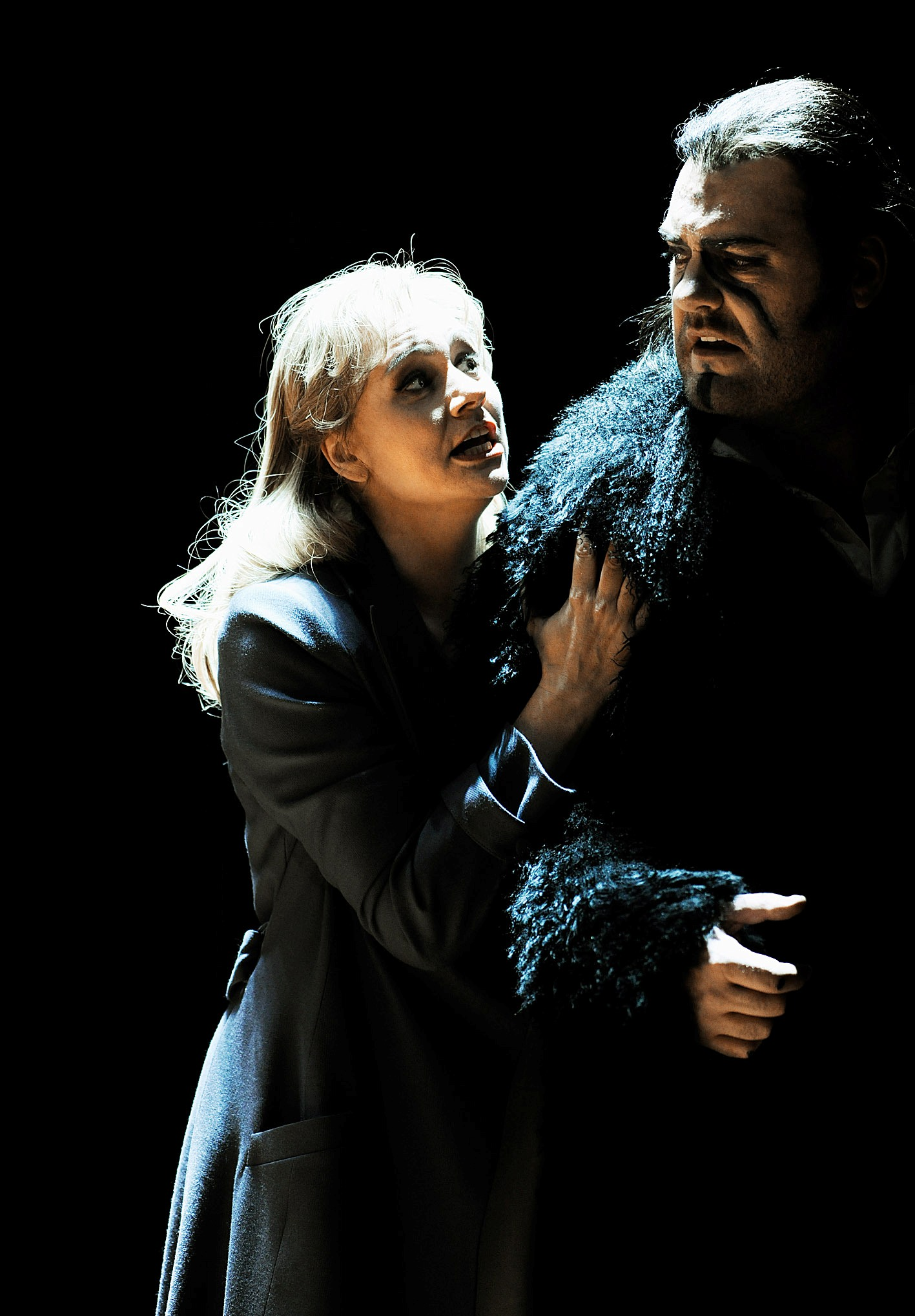 Anja Kampe and Bryn Terfel in the Zurich production of The Flying Dutchman