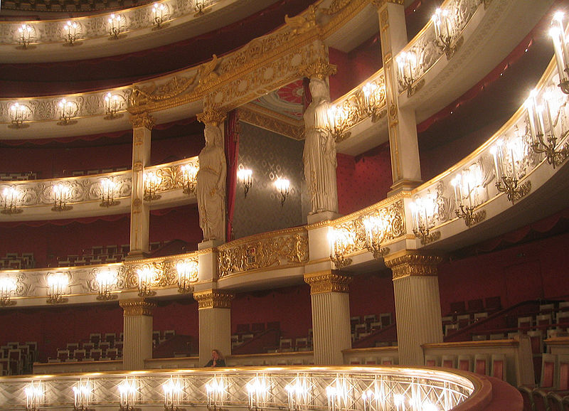 Interior of the Bavarian State Opera