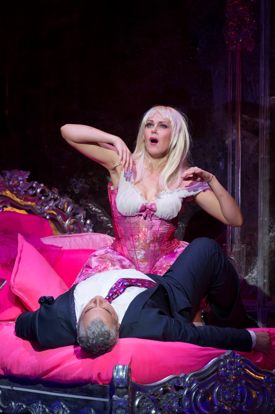 Act Two scene from Royal Opera Manon Lescaut