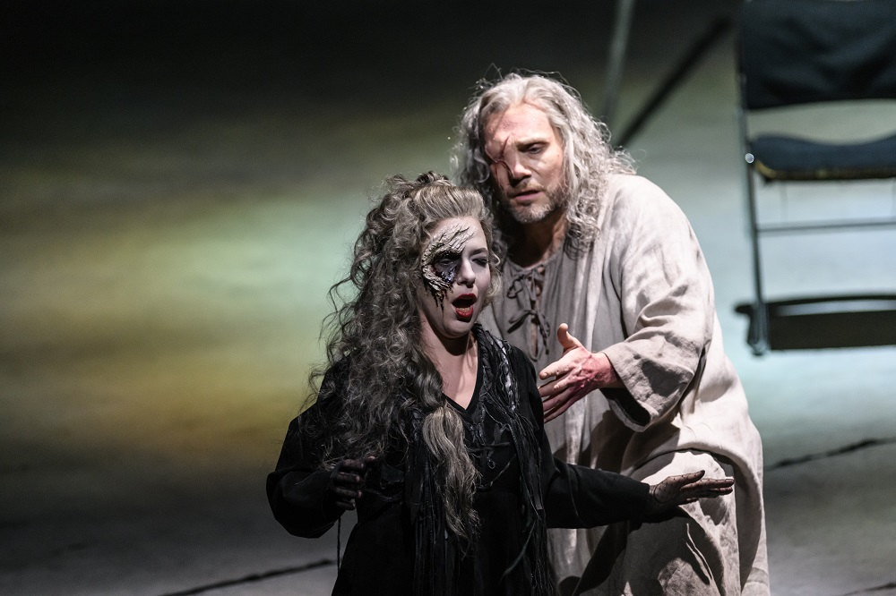 Wotan and Erda in the Royal Opera Ring