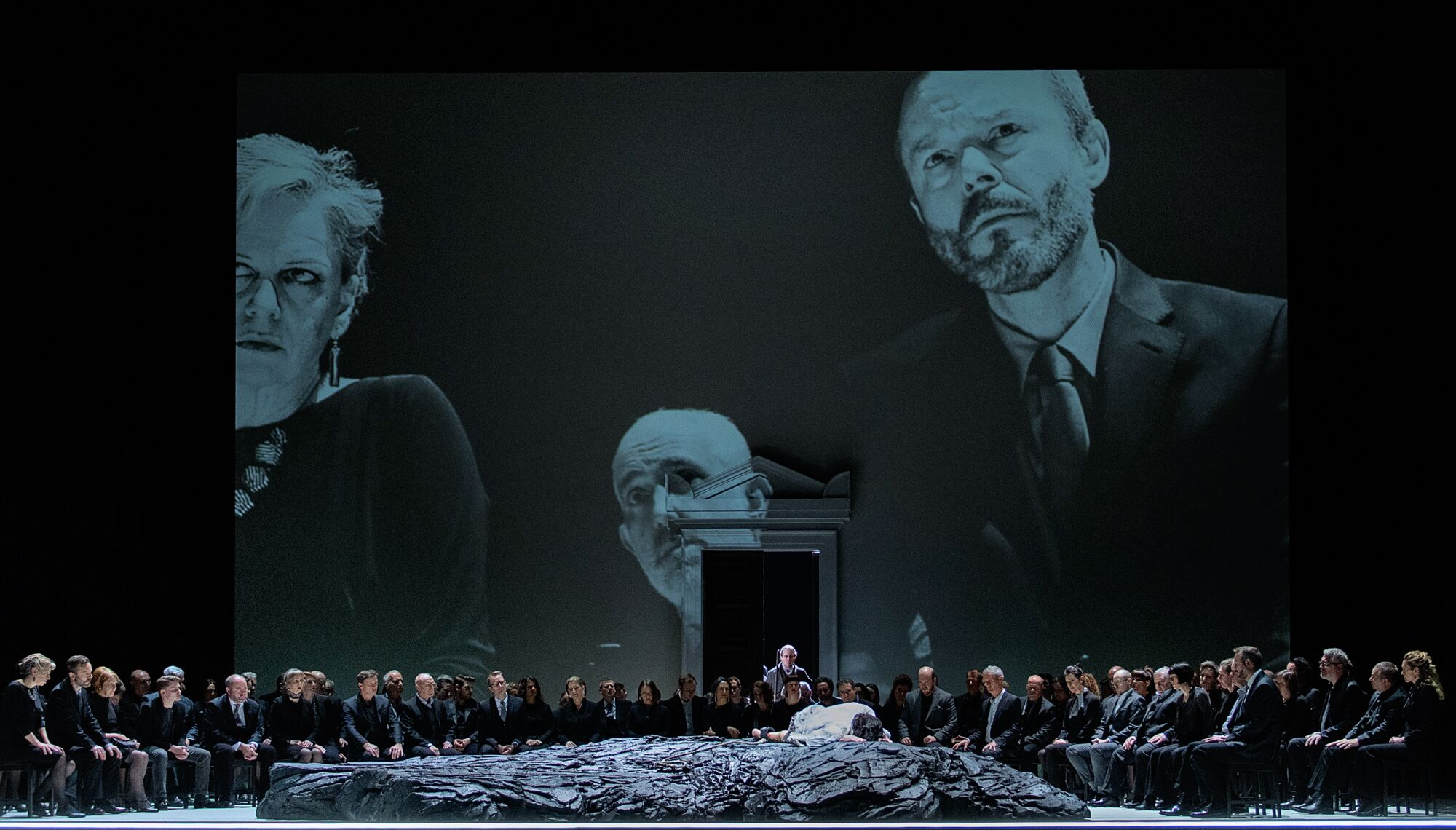 Scene from Act 2 of Royal Opera Fidelio