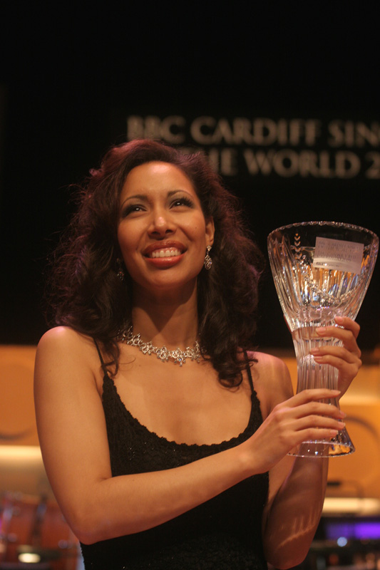 Nicole Cabell at Cardiff in 2005
