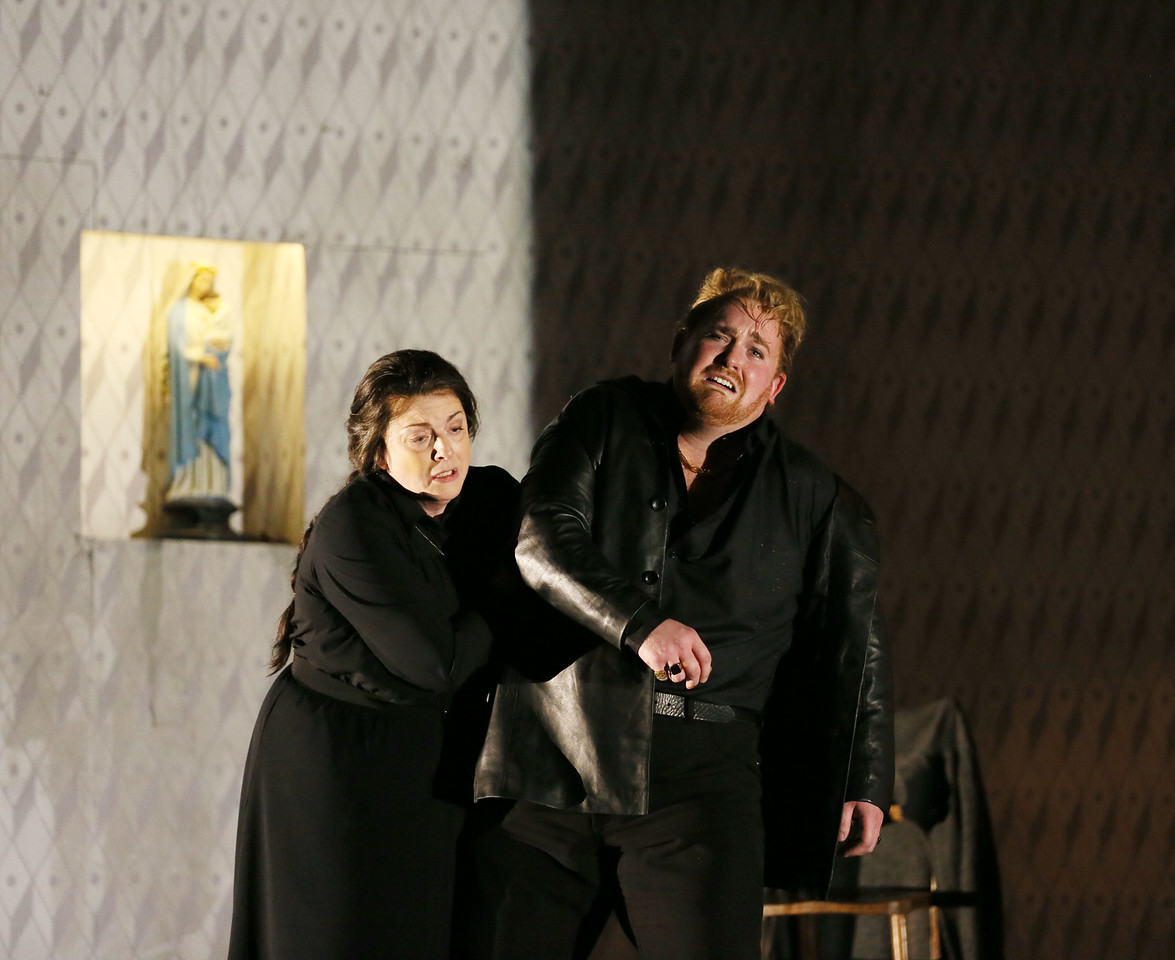 Michael Martens and Nicky Spence in Jenufa