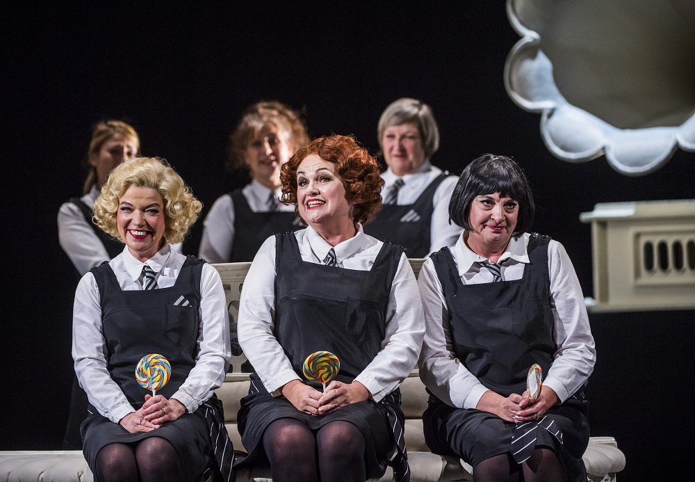 Three Little Maids in ENO Marvellous Miller evening