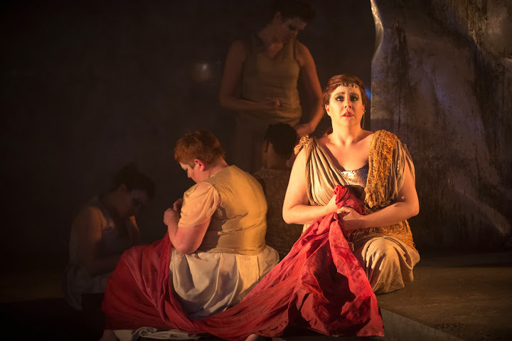 Camilla Roberts as Andromache in ETO King Priam