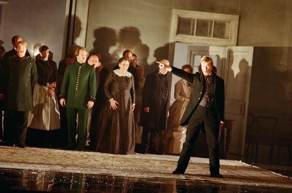 Toby Spence as Lensky in the ENO production of Eugene Onegin