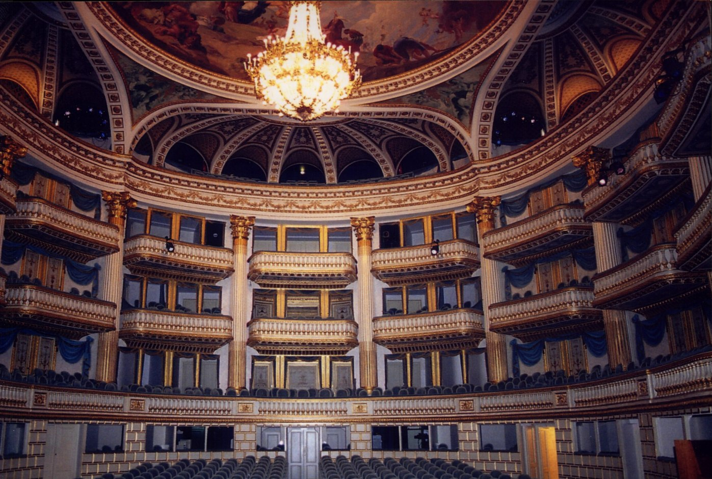 Theatre-Royal Bordeaux auditorium