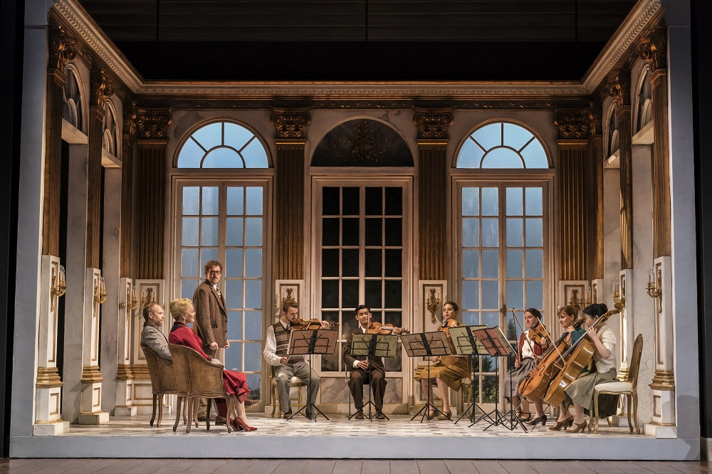 Opening of Strauss's Capriccio at Garsington Opera