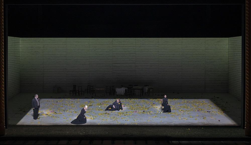 Scene from act three of Jenufa