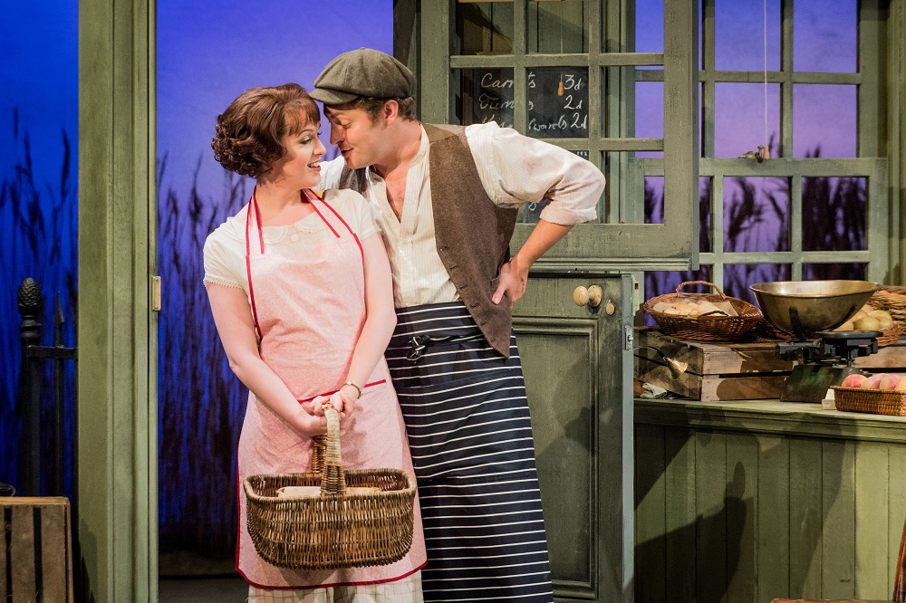 Kitty Whately and Timothy Nelson in Albert Herring