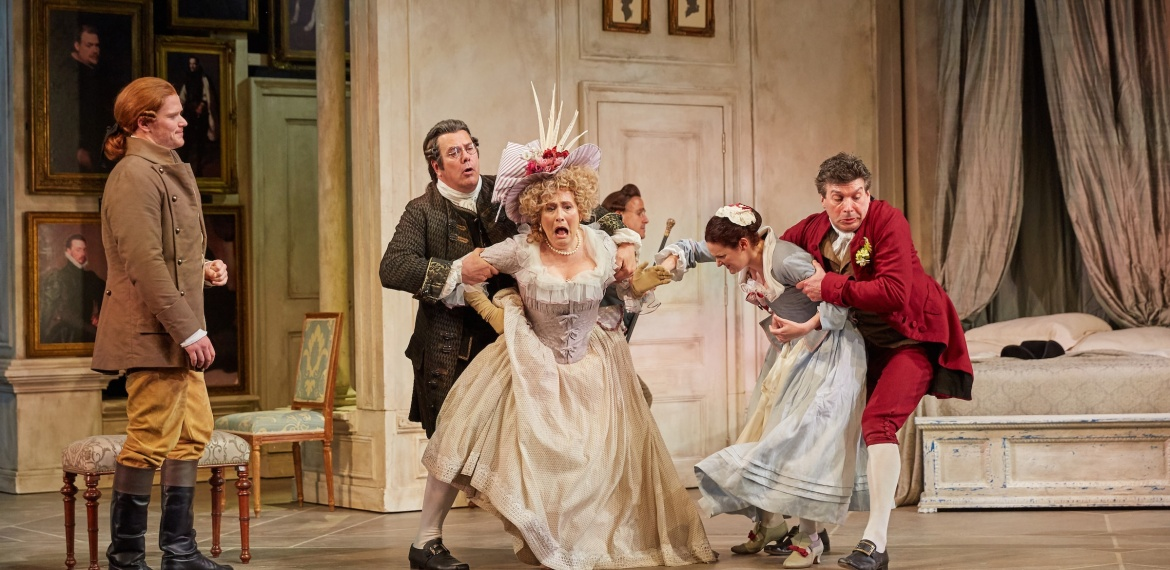 Scene from Act 2 of Garsington Figaro