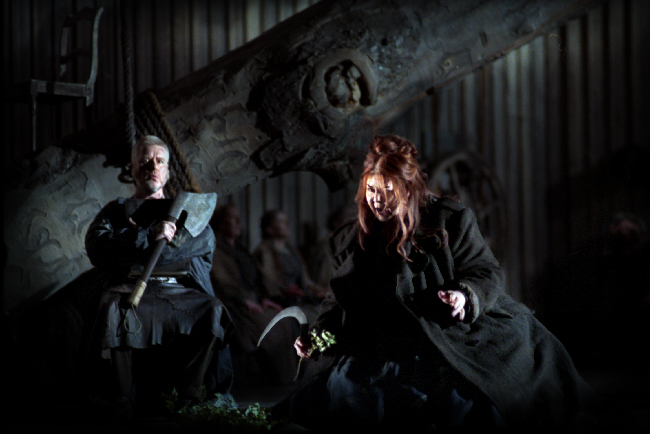 James Cresswell and Marjorie Owens in Norma