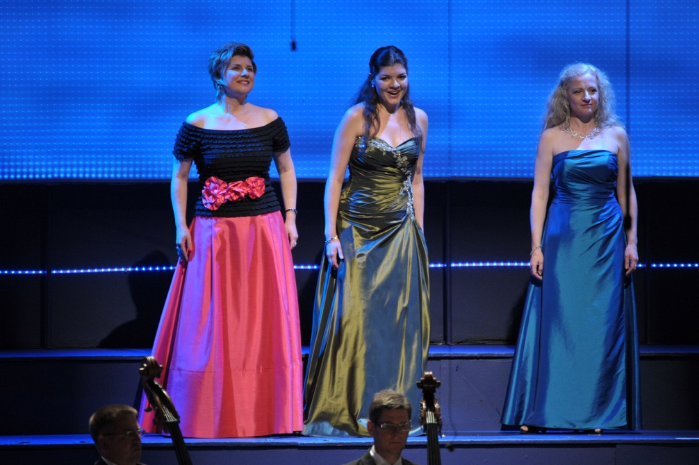 Rhinemaidens in the Proms Ring pictured by Chris Christodoulou