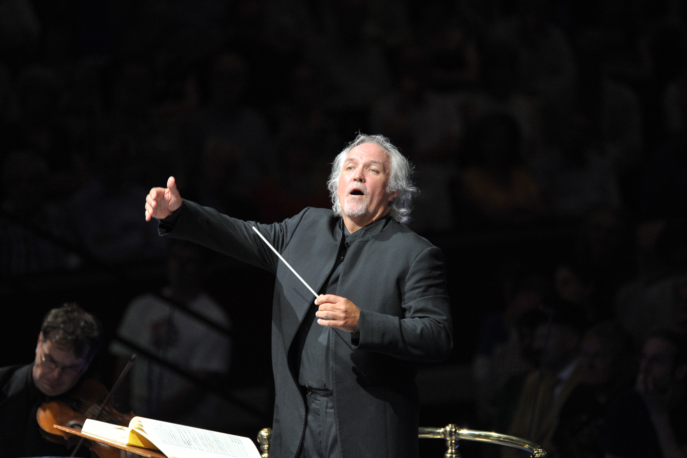 Donald Runnicles at the 2013 Proms by Chris Christodoulou