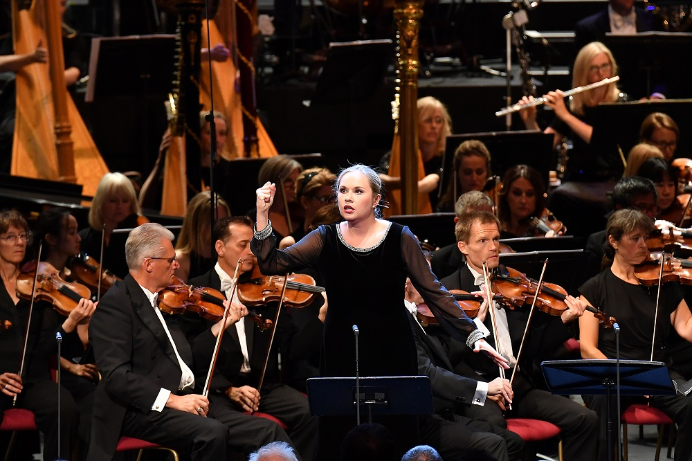 Elena Maximova as Marfa in Proms Khovanshchina