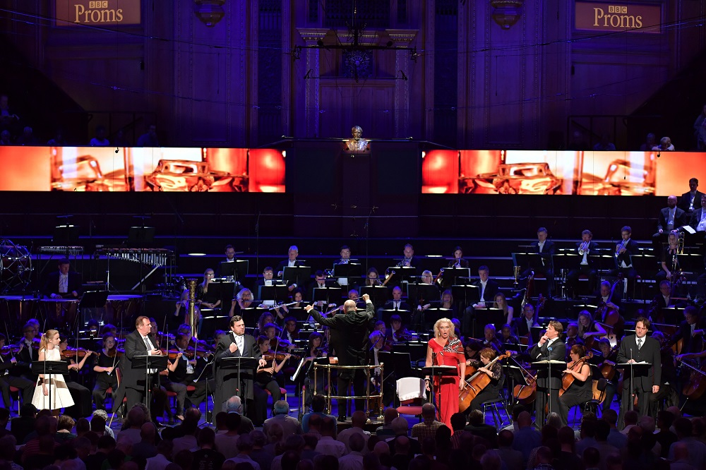 Final scene of The Makopulos Affair at the Proms