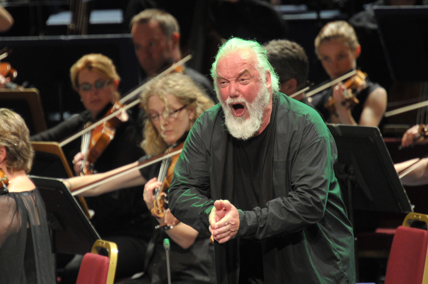 Sir John Tomlinson at the 2013 Proms by Chris Christodoulou
