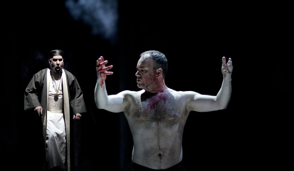 Scene from Danish Royal Opera's Saul and David