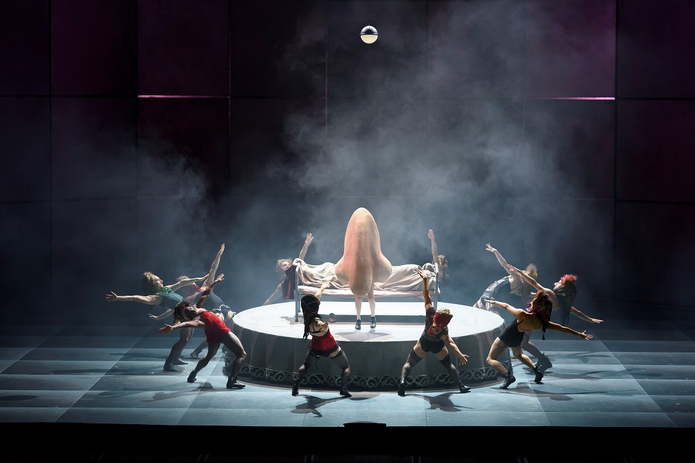 Scene from Royal Opera Nose