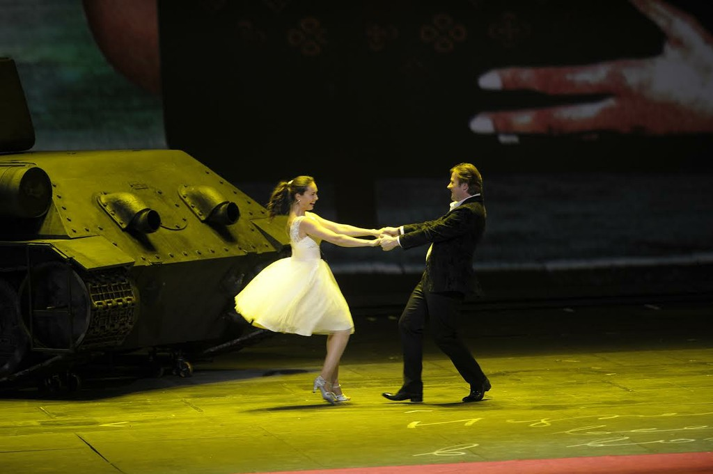 Scene from Mariinsky War and Peace