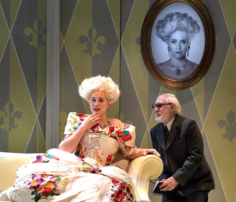 Scene from Act 1 of Der Rosenkavalier