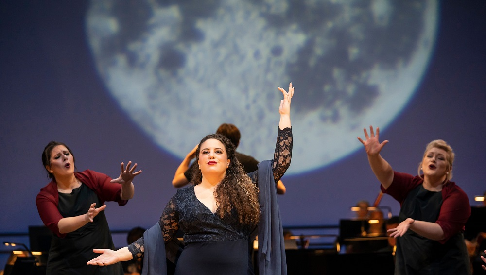 Nazan Fikret as the Queen of the Night at Glyndebourne