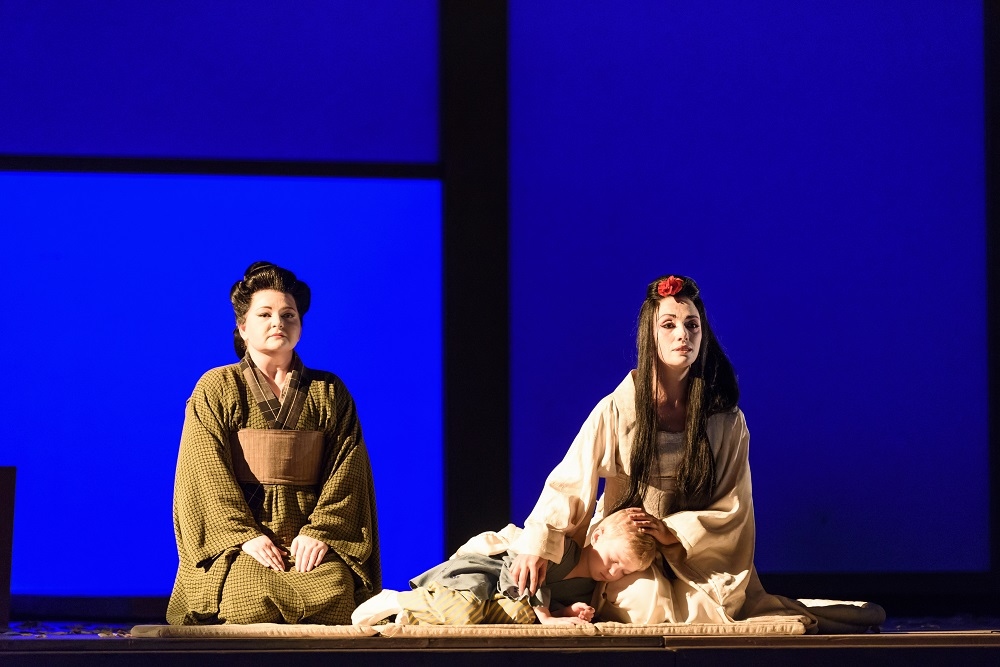 Scene from Royal Opera Madama Butterfly