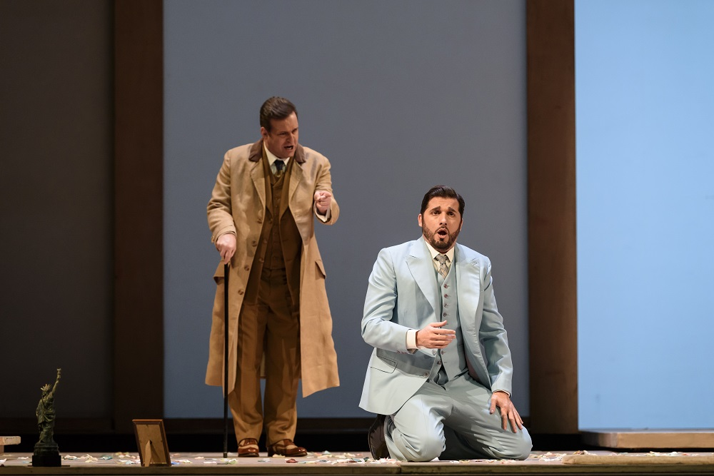 Scott Hendricks and Marcelo Puente in Royal Opera Butterfly