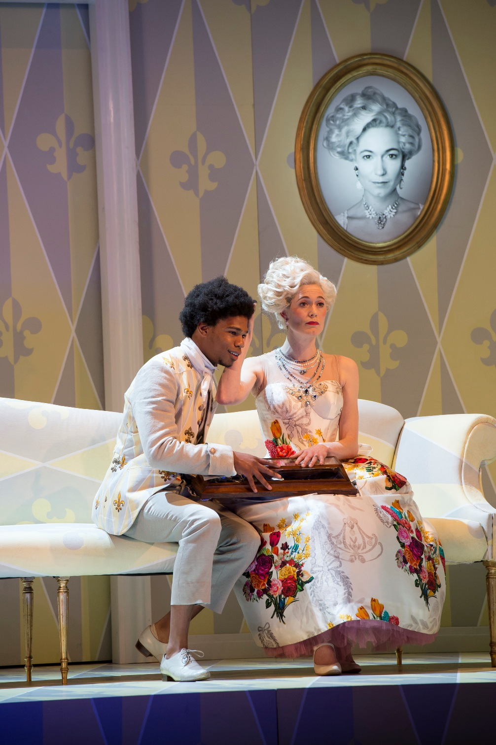 Daniel Francis-Swabey and Kate Royal in Glyndebourne Rosenkavalier