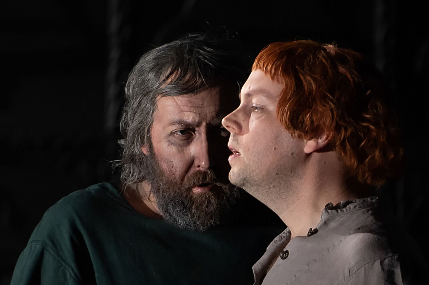 Matthew Rose and David Butt Phillip in Royal Opera Boris Godunov