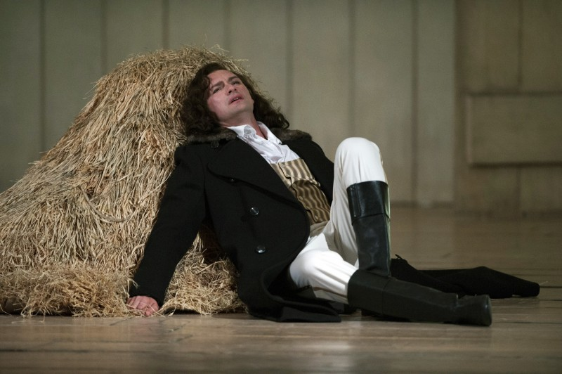 Edgaras Montvidas as Lensky in the Glyndebourne Eugene Onegin
