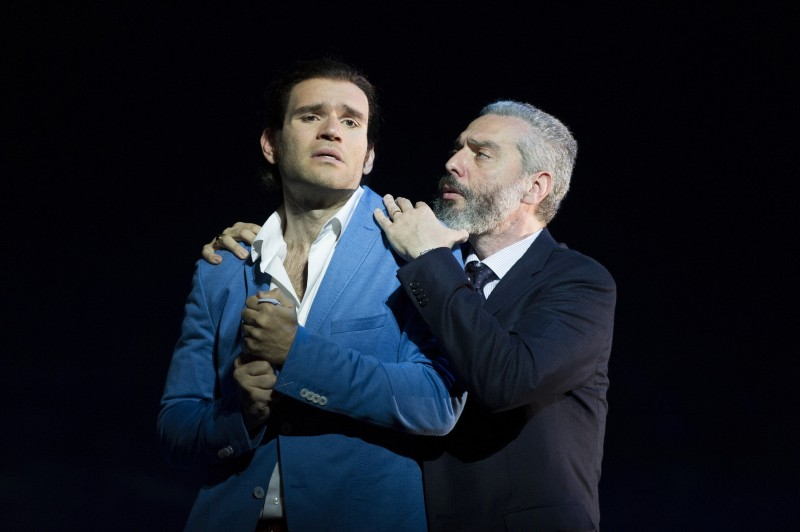 Christoyannis and Fabiano in the Glyndebourne Traviata