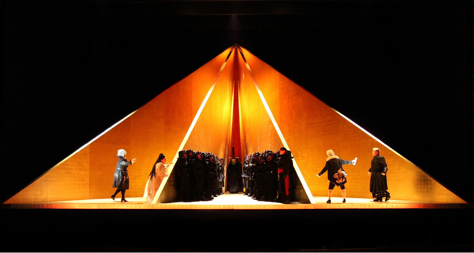Act One of ENO Tristan