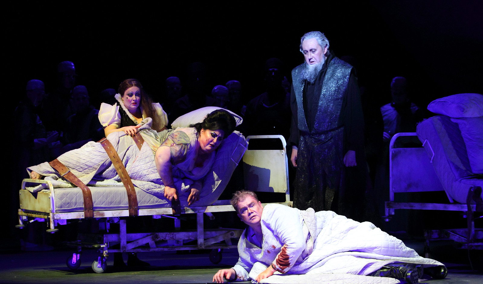 Act Two scene from ENO Tristan and Isolde