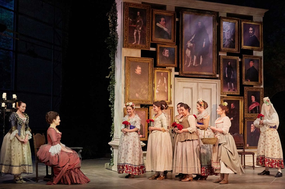 Scene from Garsington's Figaro