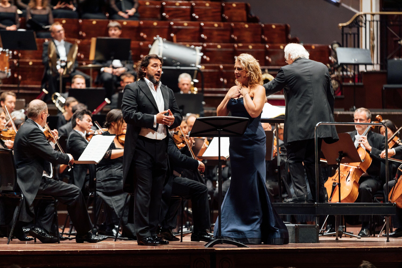 Jorge De Leon and Sondra Radvanovsky