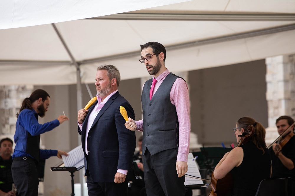 Robert Murray and John Savournin at Opera Holland Park